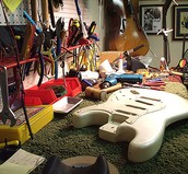 Our shop will take your guitar, swap out parts, and rebuild your entire guitar for a great price