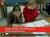 113. Picasso Carnival