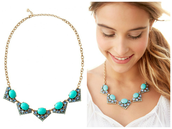 Roy Necklace - Blue