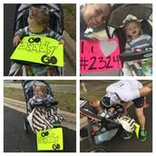 My Cheer Team At Mile 17!