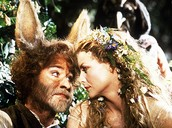 Bottom and Titania in Love
