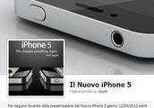 iPhone 5... Scoprilo su Facebook!
