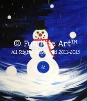 """Kids Nite Art: """"Frosty"""""""