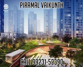 """Vaikunth Piramal Thane - Blended advances of realty company"