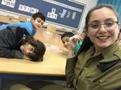 עדן ברכה ותלמידים - יסודי עין הים חיפה