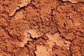 Red, Dry Soil