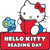Hello Kitty Reading Day!