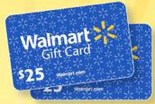 ¡Su estudiante podría ganar una tarjeta de regalo de $25 de Wal-Mart!
