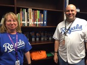 The LMC is full of Royals fans!