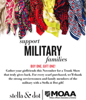 Buy a scarf and we gift a scarf to military women