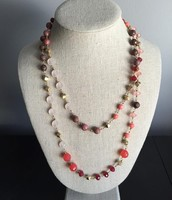 Coral Layering Necklace $19 SOLD