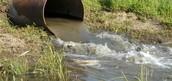 זיהום מקורות מים על ידי התעשייה - הזרמת שפכים