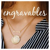 Engravables - Personalized Jewelry