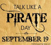 Pirate Day - Monday, September 19