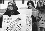 This is where Betty Friedan along with plenty of women representing women's equality.