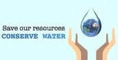 Why do we need to conserve water?