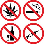 Avoid high-risk behaviors, such as tobacco, alcohol, or other drugs