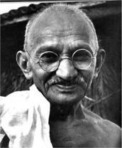 Mahatma Gandhi                                                  (daniël)