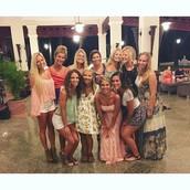 Senior Girls in the Dominican Republic