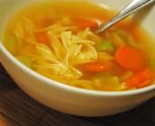 La sopa de fideos