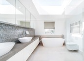 Modern Bathroom- Fresh Air