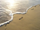 """""""Efface the footprints in the sand"""""""