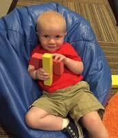 Jamison enjoys playtime!