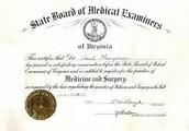 Degree/Certificate/Training needed