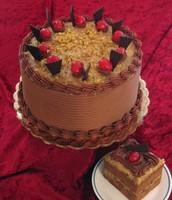 Crazy German chocolate cake