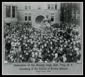 Emma Willard school in 1805