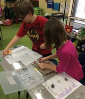 We're exploring the properties of rocks & minerals.