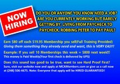 MCA Hiring - $400 - $2500 Weekly