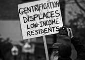 Gentrification makes the lower class feel out of place