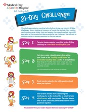 Take the 21-Day Challenge