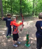 Price & Elijah aiming