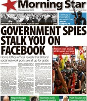 Government can snoop through your Facebook info.
