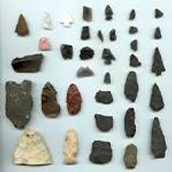 Different Rock Artifacts