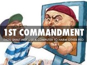 Computer Commandment #1
