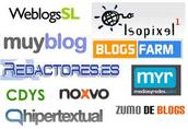 la gran variedad de blogs