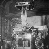 Houdini Above the Water Torture Cell