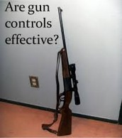 More gun control laws would reuce gun deaths.