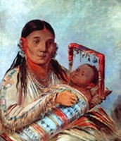 Sioux Mother and Baby, c. 1830