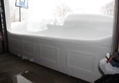 That's a lot of snow!!