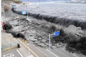 Tsunami in Japan shocks all.