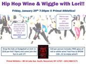 Hip Hop Wine & Wiggle