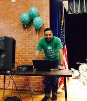 DJ Bandido at the Pep Rally!