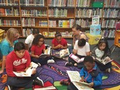 Junior League, Northpark Partner to Spruce Up, Expand Field ES Library
