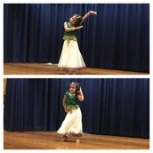 A highlight of the night. One of our Panthers celebrates Multicultural Night w/ a Bollywood dance!