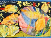 Expression and showing what we know through art is a big part of our curriculum