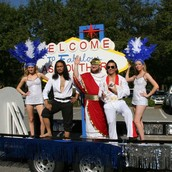 Society of Physics Students Have Winning Homecoming Float